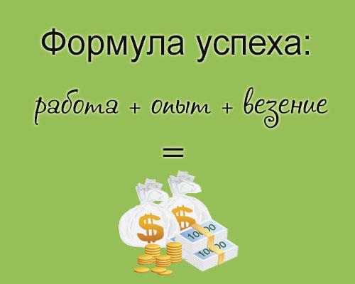 формула успеха копирайтера